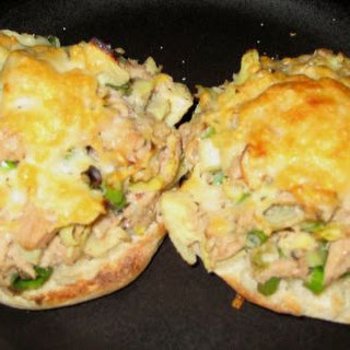 Tuna and Artichoke Open Faced Sandwich