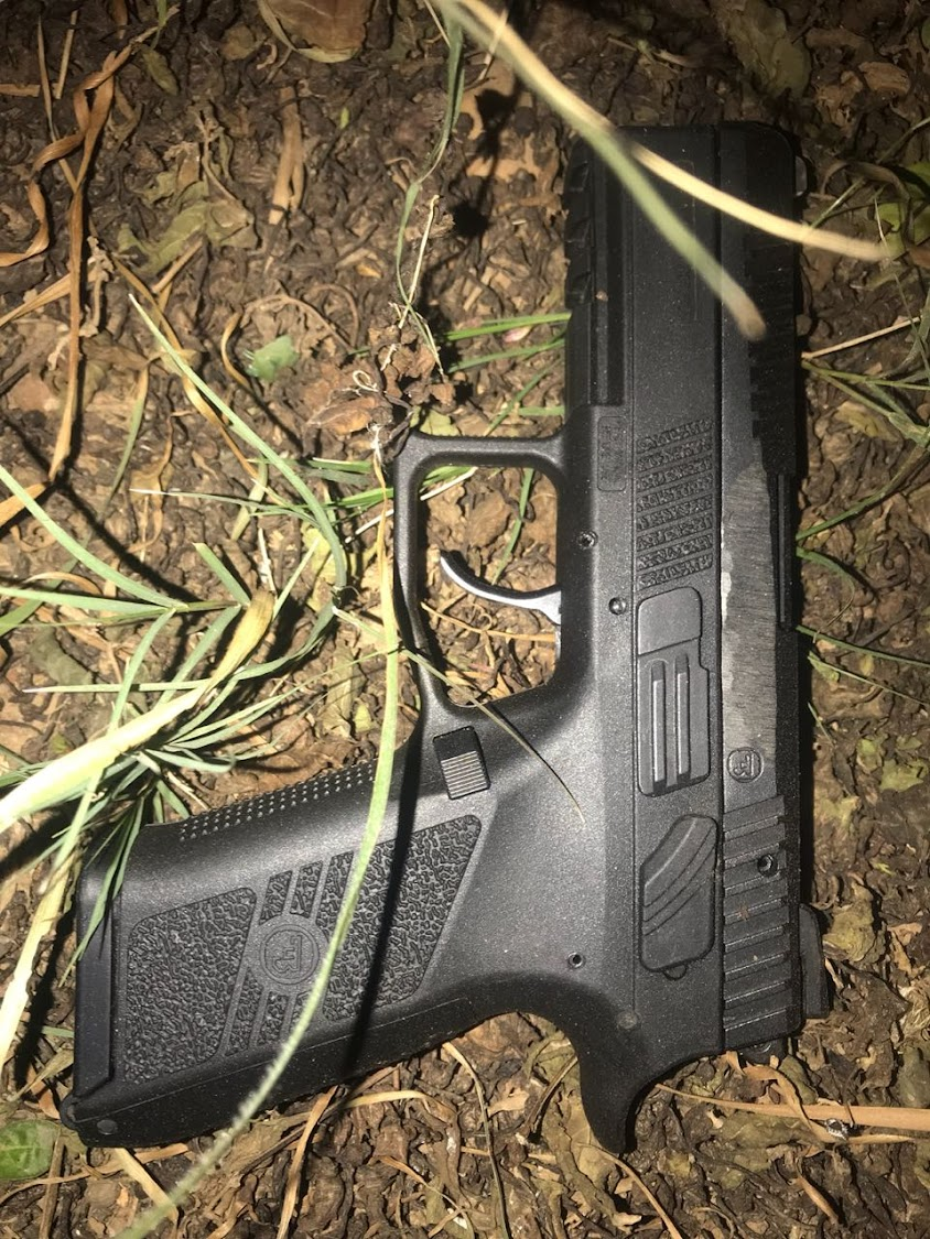 A firearm recovered after a robbery in Port Elizabeth last month. File picture.