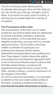 Easy letter writing apps on google play screenshot image stopboris Image collections