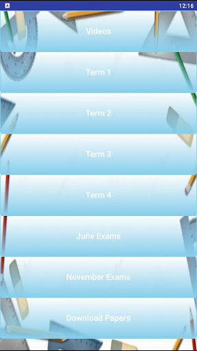 Grade 8 Technology Mobile Application 1.0 screenshots 1