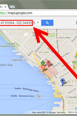 GPS Coordinates Prank