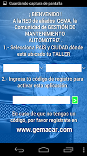 GemaCar Talleres Screenshot