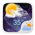 Clear Glass GO Weather Widget icon