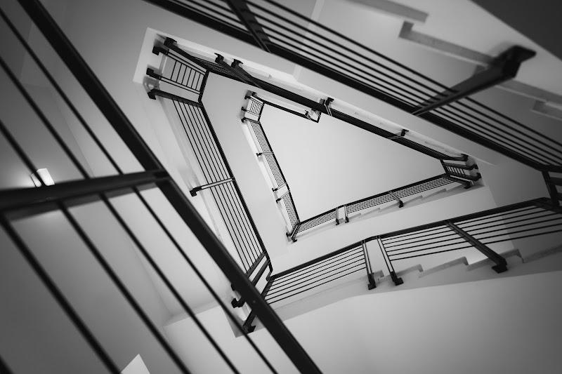 La tromba delle scale di Simonetti Andrea