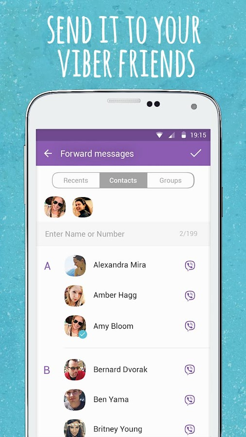 Viber Wink- screenshot