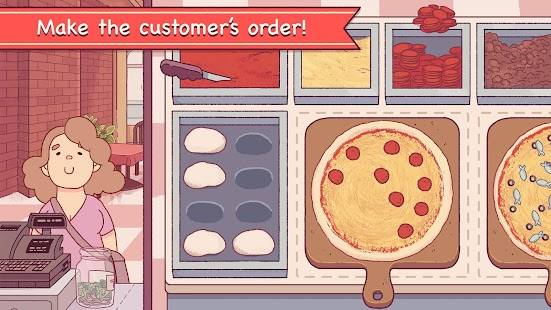 ApkMod1.Com Good Pizza, Great Pizza + (Mod Money) for Android Casual Game