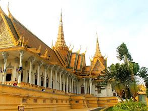 Photo: Phnom Penh - Pałac Królewski, Sala Tronowa / Royal Palace, Throne Hall