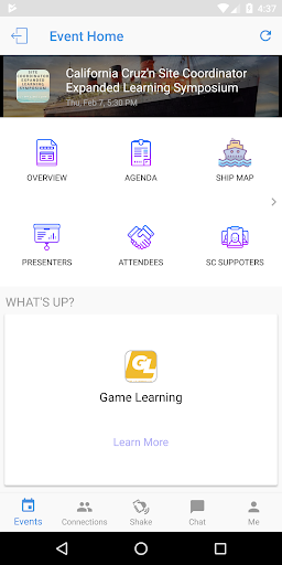 Screenshot for California AfterSchool Network in United States Play Store