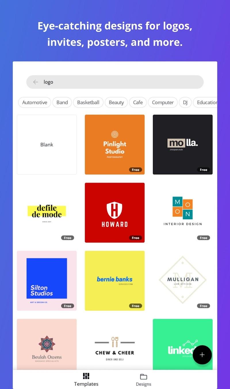 Canva: Graphic Design, Video, Collage & Logo Maker Screenshot 9