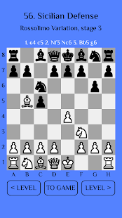 Chess Match: Sicilian defense - náhled