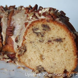 Maple Pecan Nut Cake