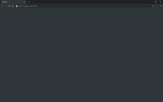 Blank New Tab - Dark (Chrome)