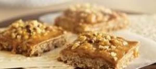 Pumpkin Butterscotch Fudge Bars Recipe