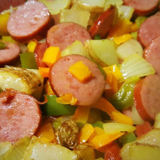 Sausage, Pepper, & Potato Hash