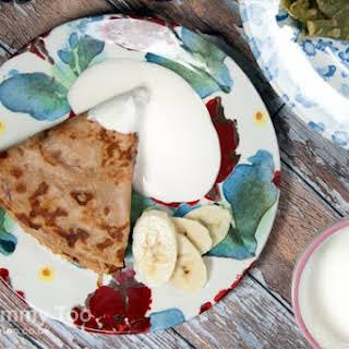 Cranberry & Apple Flavour Pancakes.