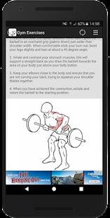 Gym Exercises - náhled