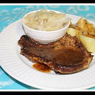 Pan Fried Pork Chops.