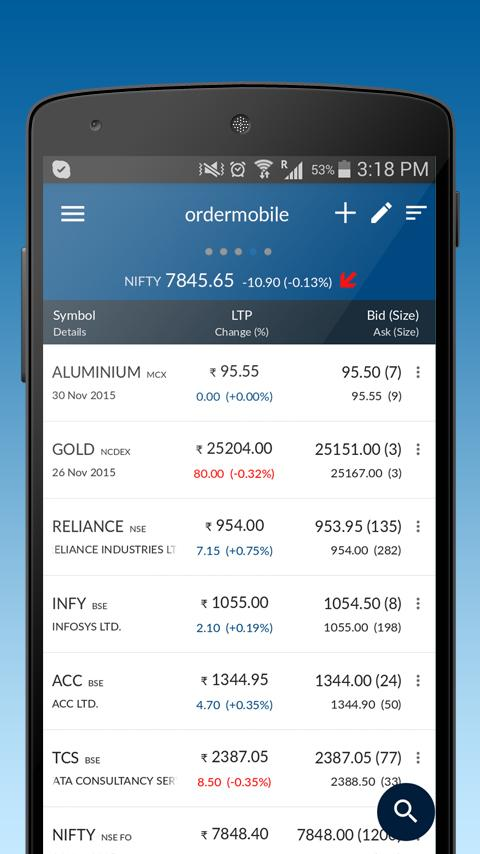 Angel Broking- screenshot