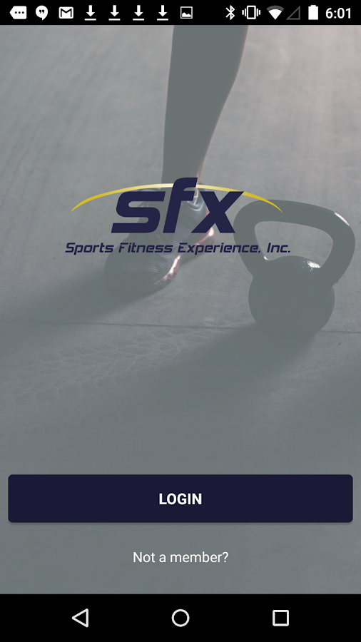 SFX Fitness- screenshot
