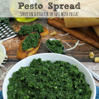 Spinach and Kale Pesto Recipe | Use As a Spread or Pasta Toss!