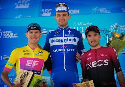 Van Garderen trekt zich op aan leiderstrui na tweede plaats in tweede rit