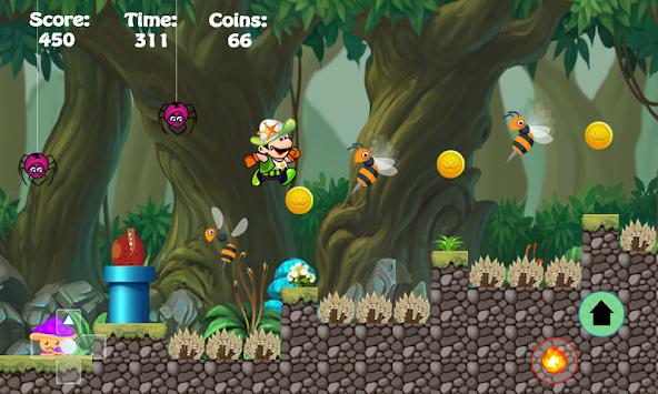 Super Jupper Adventure Run apk screenshot