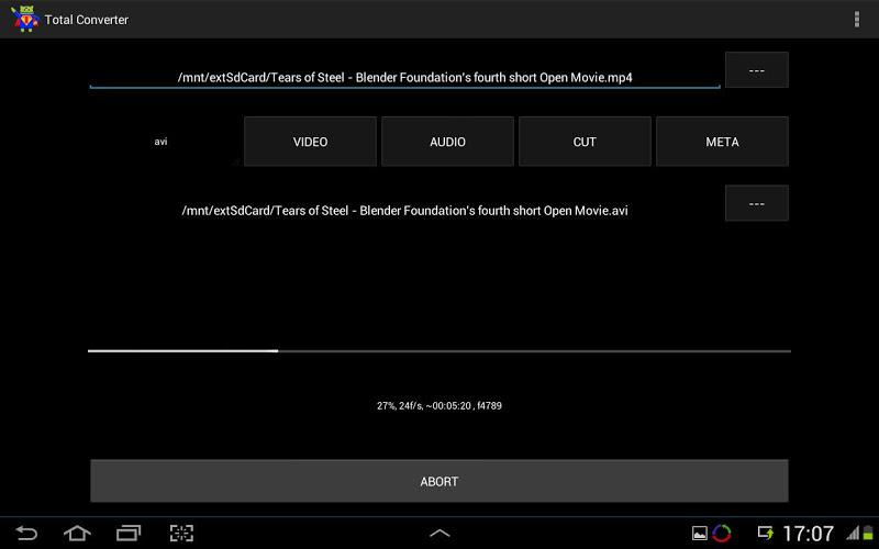 Скриншот Video Converter x86 Codec