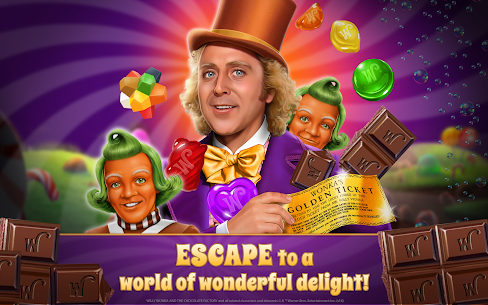 Willy Wonka's Sweet Adventure – A Match 3 Game 5