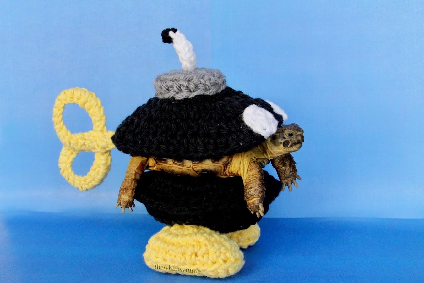 Tortoise Bob-omb costume