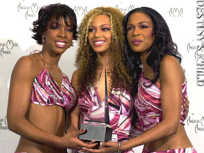 Photo: Destiny's Child hold their award for favorite group in the soul/rhythm and blues category at the 28th Annual American Music Awards in Los Angeles, Monday, Jan. 8, 2001. (AP Photo/Mark J.Terrill)