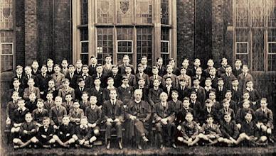 Photo: Old School Photo c.1923 - 24