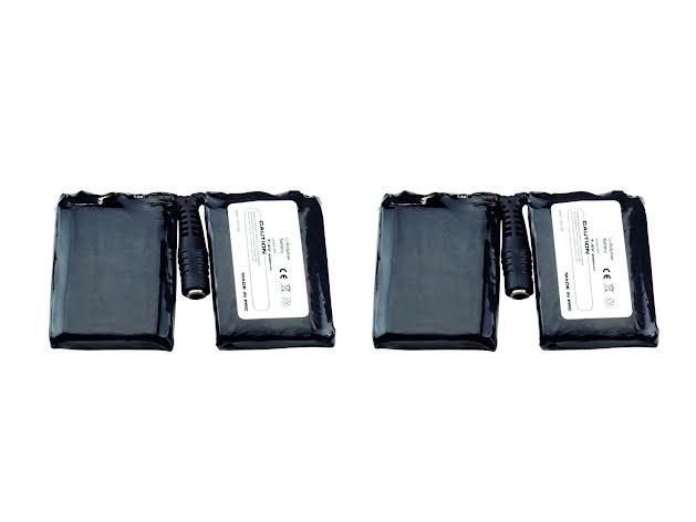 Litiumbatterier till värmehandskar GLP7422