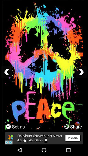 Download Peace Sign Wallpapers Hd Google Play Softwares