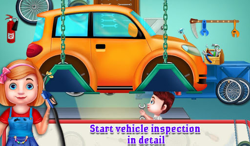 Little Garage Mechanic Vehicles Repair Workshop 1.0.5 screenshots 2