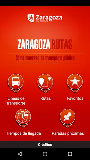 Zaragoza Rutas