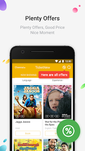 TicketNew – Movie Tickets Online Booking 1