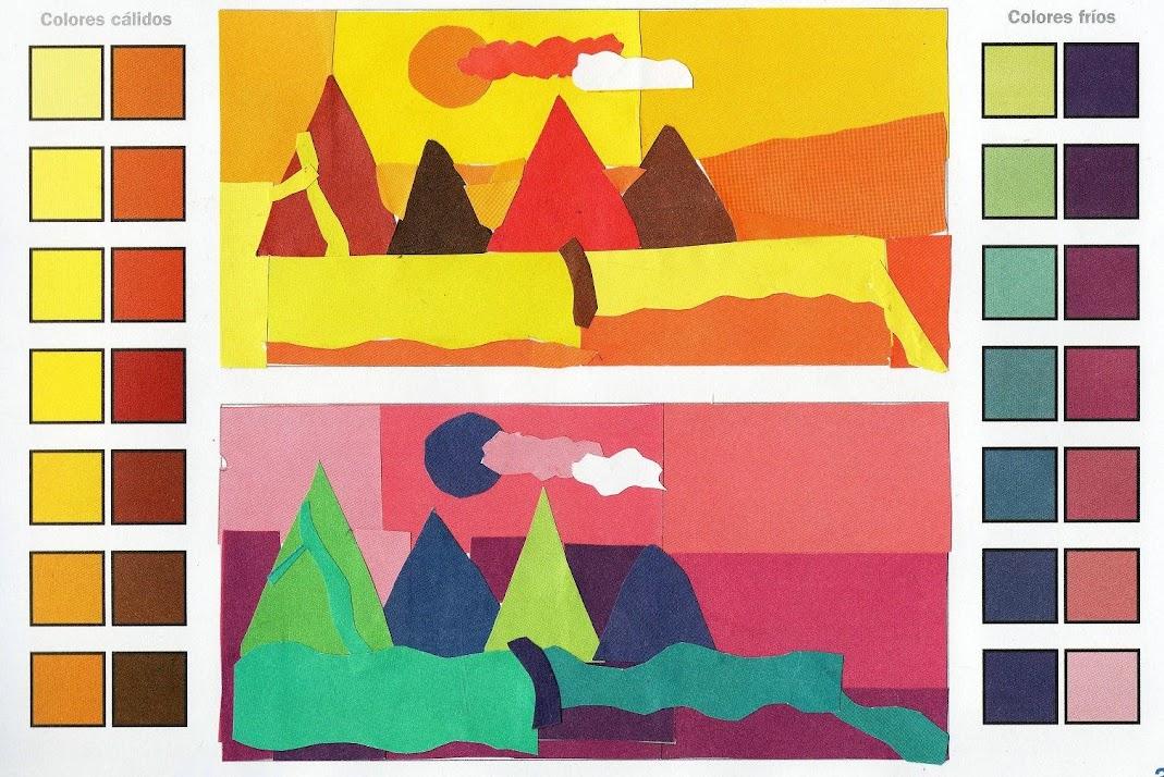 Imagin arte a illa da sabedor a - Colores frios y colores calidos ...