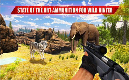 Animal Hunting Sniper Shooter: Jungle Safari apktram screenshots 8