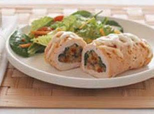 Spinach Stuffed Chicken Breast Recipe