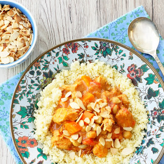 Freezer Slow Cooker Chicken Tagine