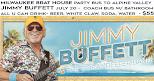 Jimmy Buffett Party Coach Bus, All U Can Drink - Alpine Valley July 20th