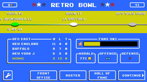Retro Bowl  screenshots 6