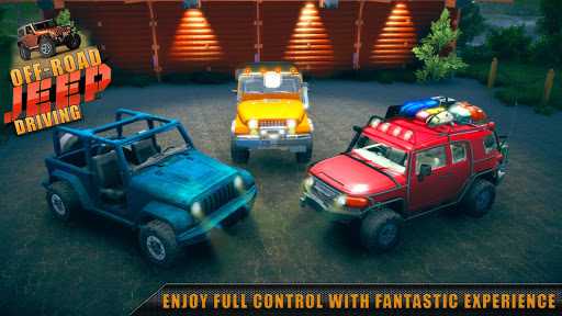 Offroad Jeep Driving & Racing apkpoly screenshots 6