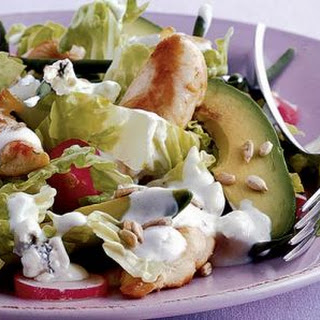 Warm Chicken & Avocado Salad Recipe