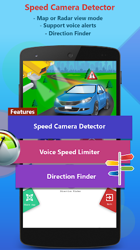 GPS Speed Camera Radar Detector- Voice Speed Alert screenshot 4