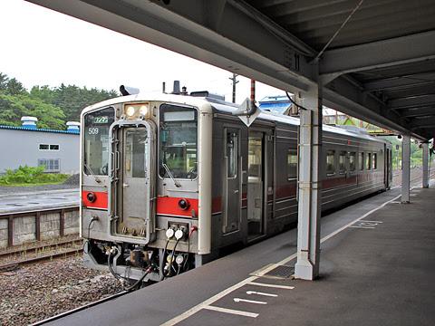 JR北海道 宗谷本線 4324D キハ54系 キハ54 508 幌延駅到着