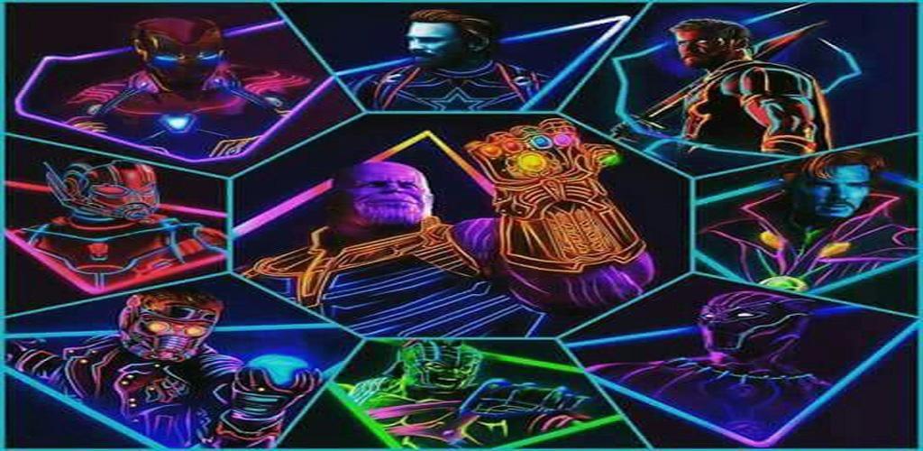 تحميل خلفيات المنتقمون نيون 1 1 0 Apk Com Avengersneon Wallpaper