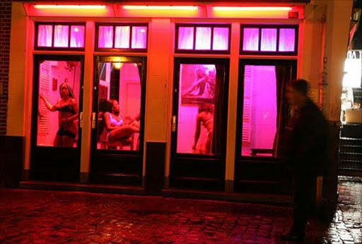 фото проституток амстердам окна