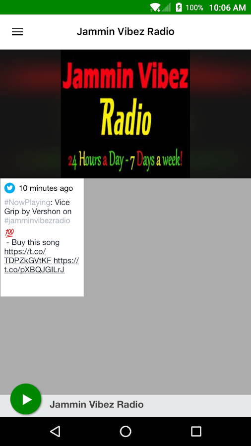 Jammin Vibez Radio- screenshot