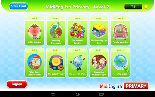 MidiEnglish Primary 2